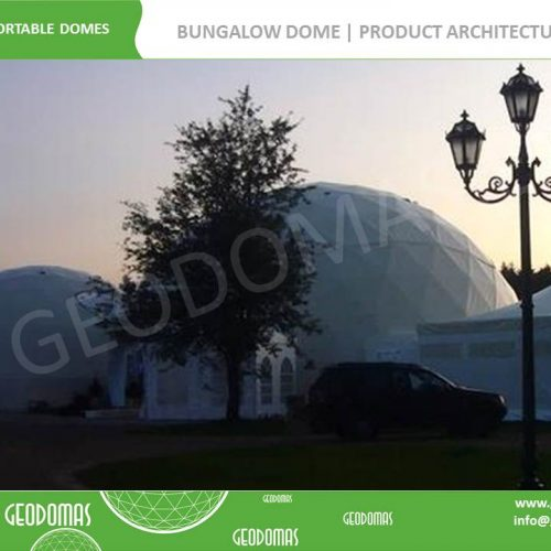 Mobile Hotel 26 room | Bungalow Dome 300m2 Ø16