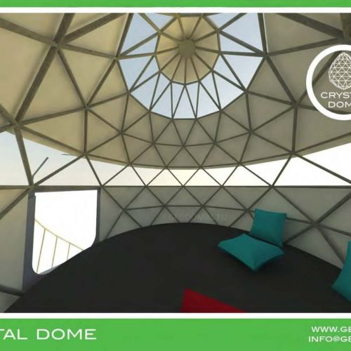 Crystal Dome Creating a relaxing atmosphere for Wild Nature
