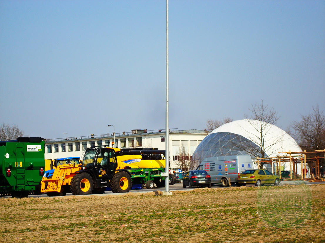 Portable Dome Ø20m for AgroBalt Expo Agriculture, Kaunas, Lithuania