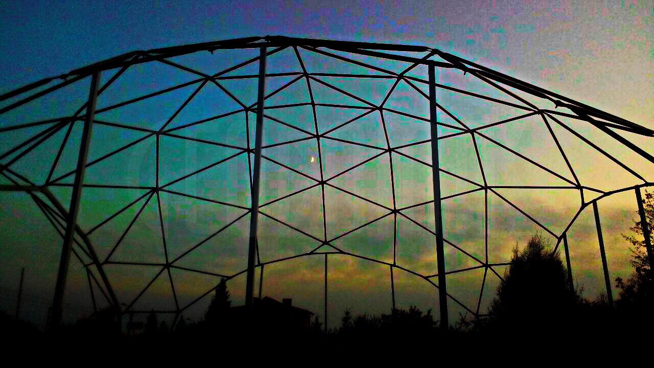 Training Riding Hall Dome 452m2 Ø24m & Garage Dome 200m2