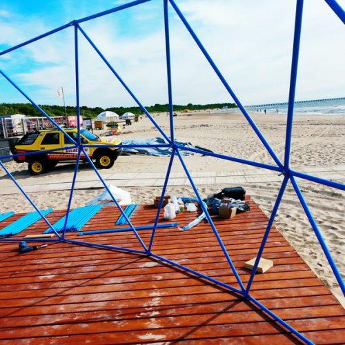 Palangos paplūdimyje Tactile Beauty SPA centras Kupolas Ø9m | Kosmetologijos paslaugas