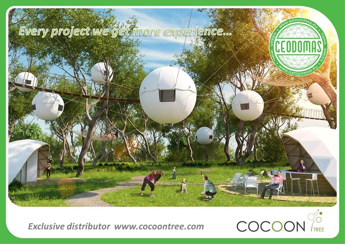 Cocoon Village modern tree house