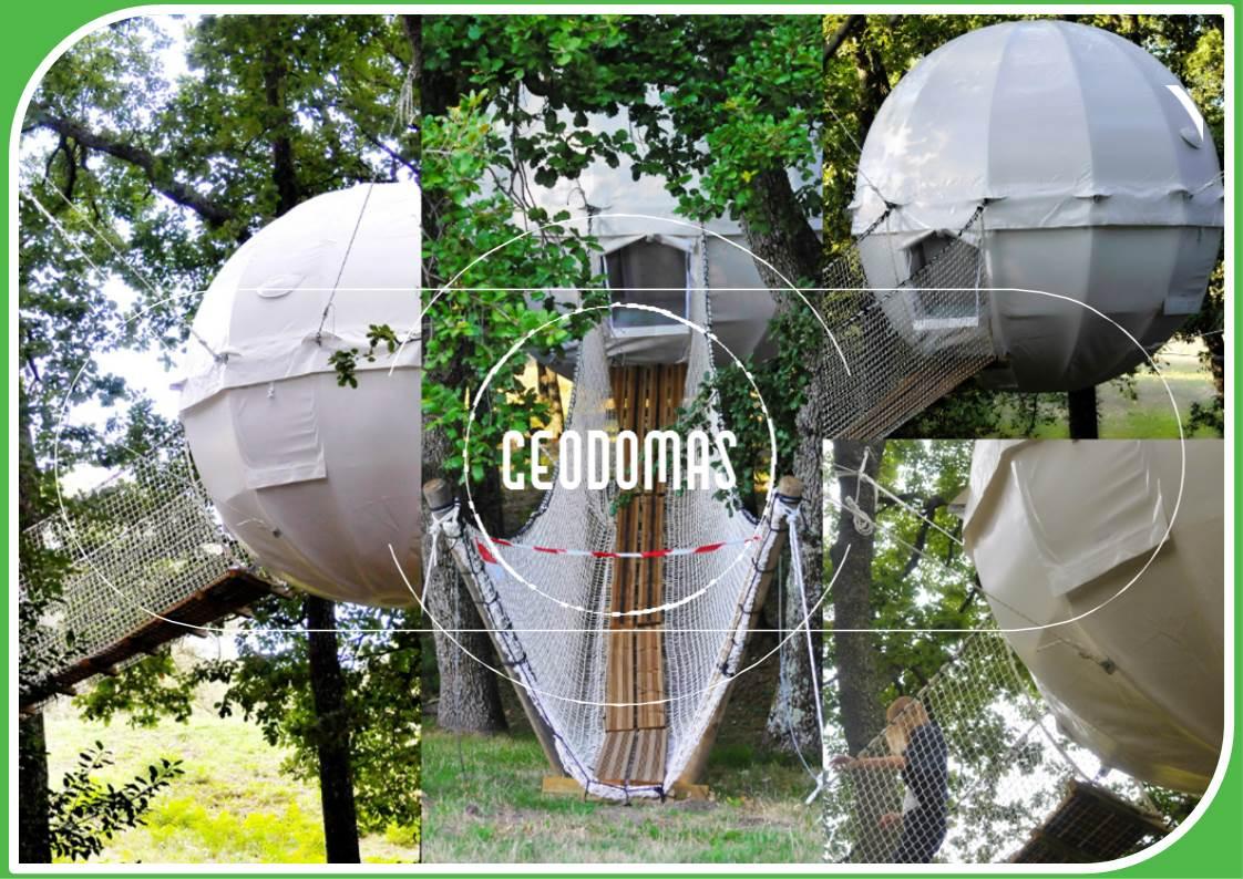 Полный релакс: подвесная палатка в виде кокона