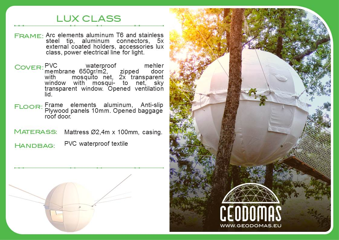Cocoon Resort  | Modern Glamping Tree House