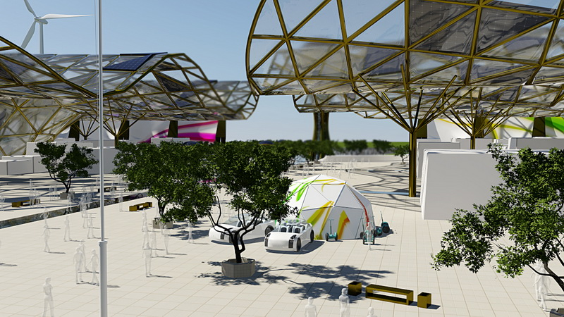 Our ideas and formed the basis for the development of the project Expo 2017
