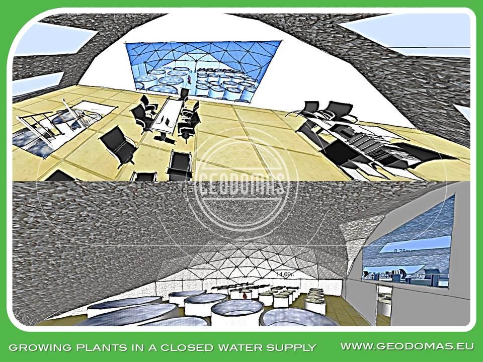Quadrat Domes for Airbreathing Catfish Fish Farms