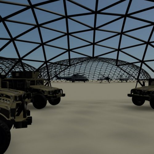 Geodesic Structures for national defense | Army Domes