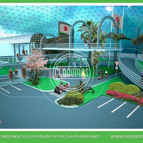 "THEMATIC RECREATION COMPLEX ""WORLD of DIASPORAS"""