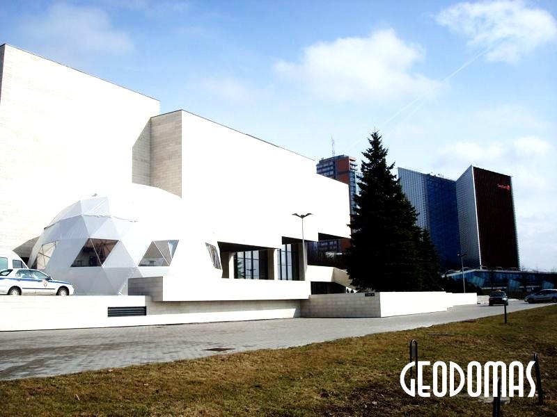 Portable Dome Ø11m for Mode Infection festival | Vilnius, Lithuania