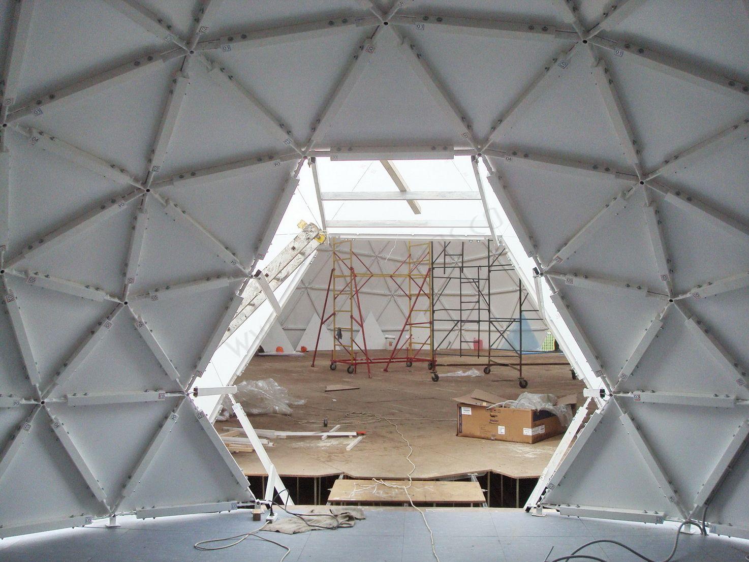 All Season VO3DUX Event Club | Geodesic Domes Ø20m & Ø6m