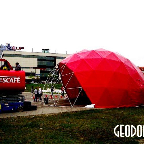 NESCAFE Рекламная акция | Красный Купол 95м2