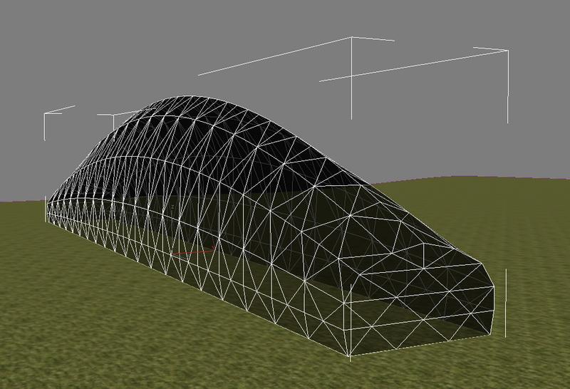 Производство Купольных теплиц и парников для фермерских хозяйств