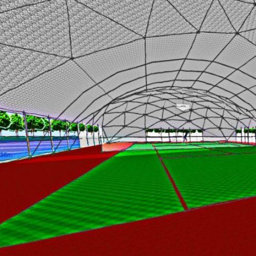 Геодезические Купола дла спортивных сооружений | Стадионы Корты Залы Бассейны