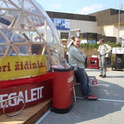 Wood Portable Dome Ø6m | Litexpo Exposition LEGALETT RESTA