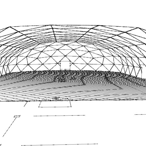 Industrial Dome hangar for Manufacture & Cargo Areas