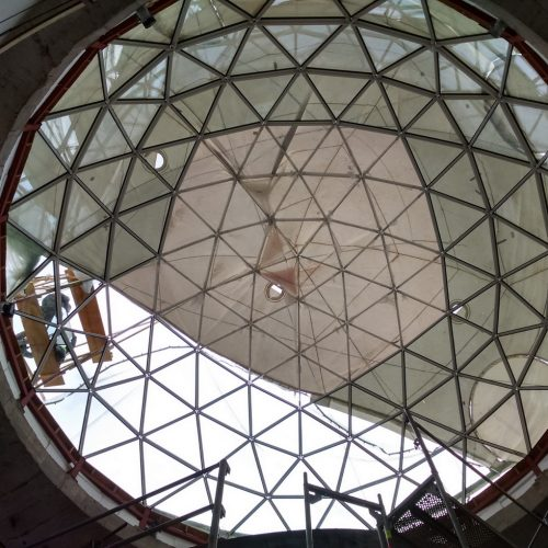 Vytautas Mineral SPA Sanatorium | Geodesic Roof Dome