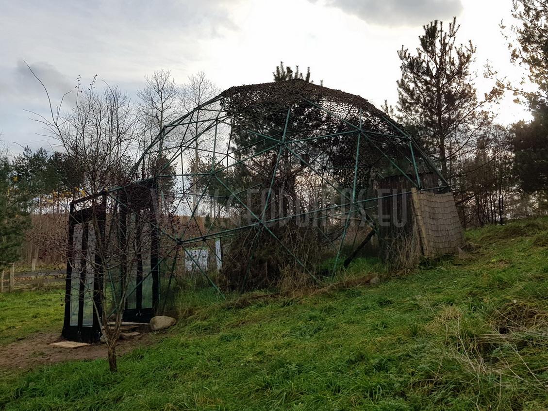 Domes for Wild Birds in Rehabilitation Center for, Bukwałd, Poland