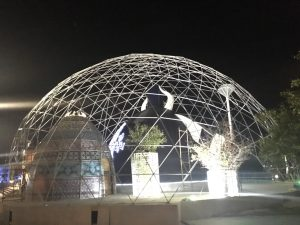 geodesic dome geodomas