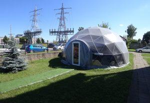 geodesic dome geodomas