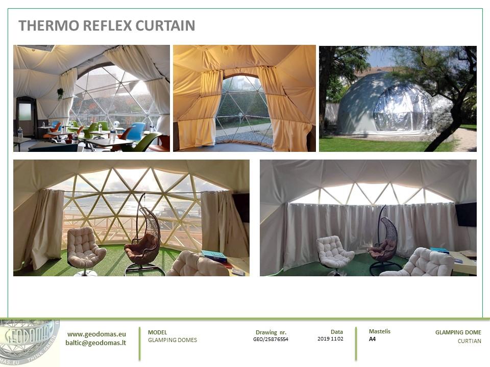 50m² Glamping Yoga Dome Ø8m | Hagal farm, Coomleagh, Ireland