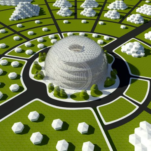 Eco City In The Framework Of The Program «New World» | Eco-Friendly