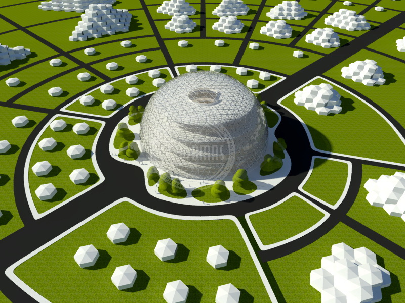 "Eco City In The Framework Of The Program ""New World"" 