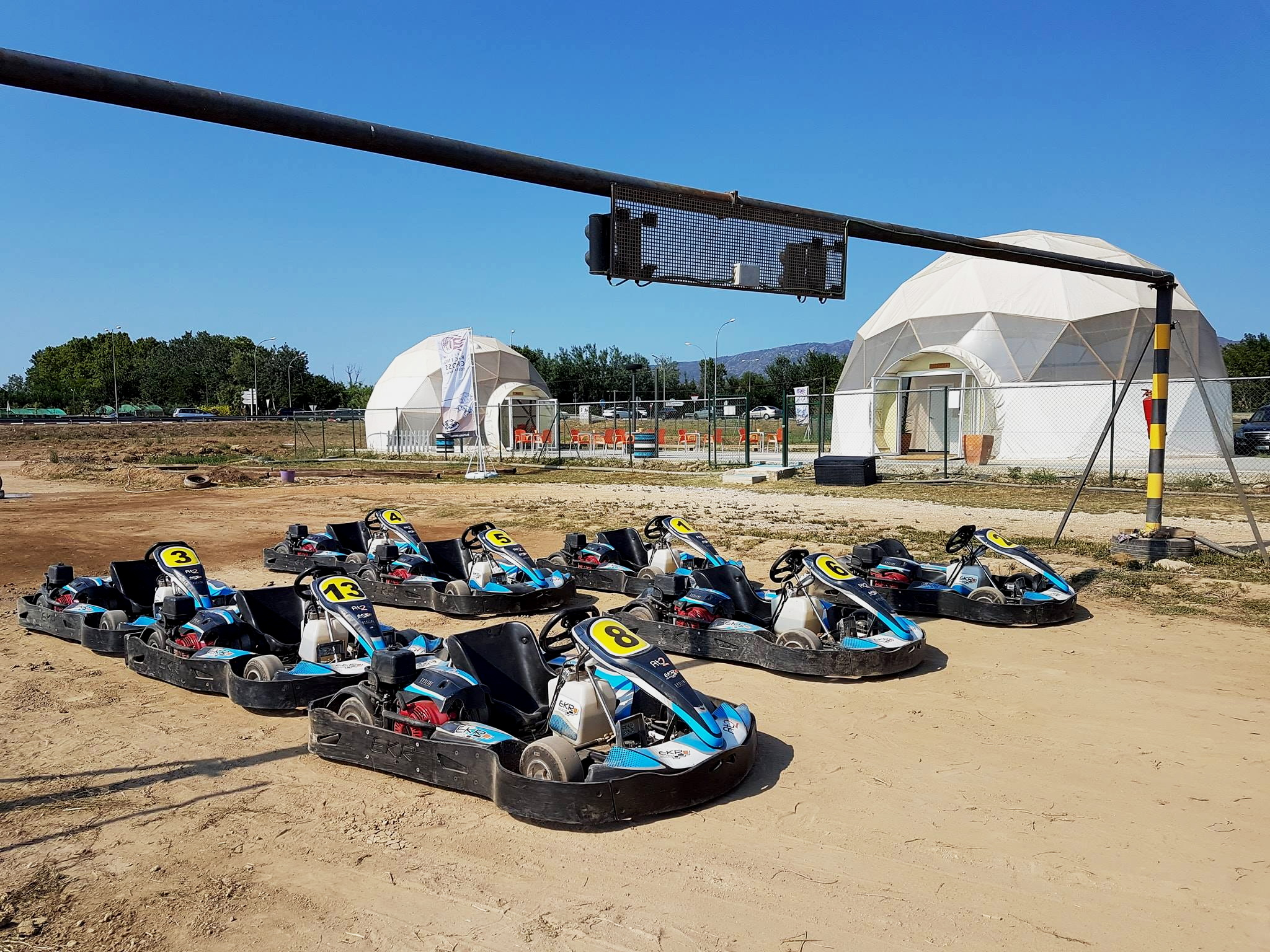 Circuito Racing Cross Costa Brava Ø8m & 10m | Spain, Girona