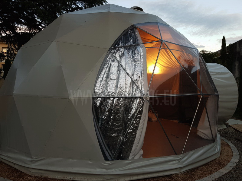 30m2 Glamping Dome Ø6m Conference VIP Room | Romans sur Isère, France