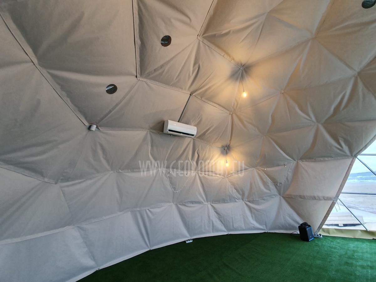 50m² Glamping Dome Ø8m VIP ROOM | Palanga Life Guard Station, Lithuania