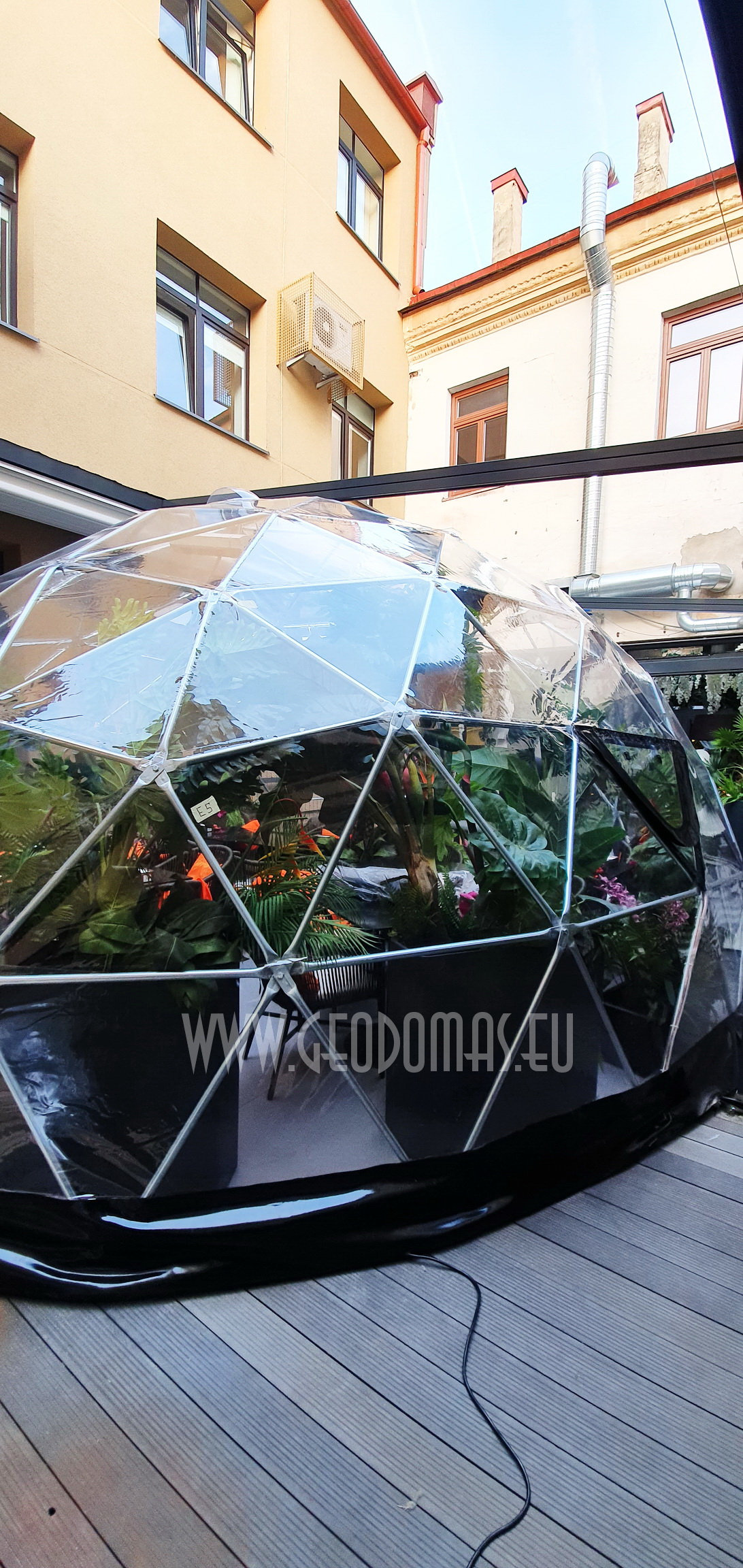 32m² Restoranas Spritz Summer Garden Ø7m | Vilnius