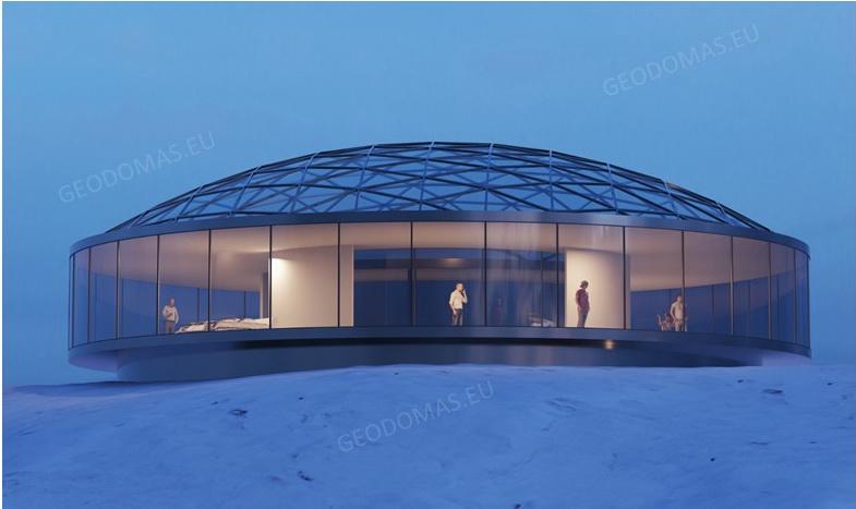 Arctic Aurora SPA Resort -40°C & 360° VR interactive Engineering