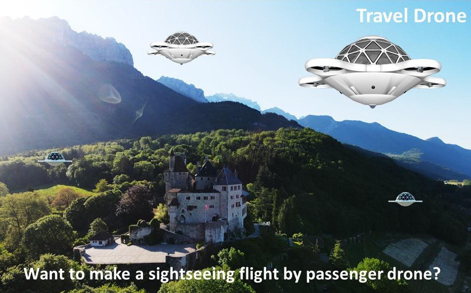 28m2 Passenger Drone 8 Seat + Operator | Dome Flight Technologies