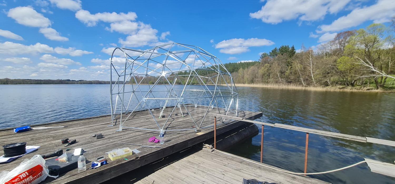 12m2 Fisherman's Dome Ø4m Panoramic   Pakaso Sodyba, LT